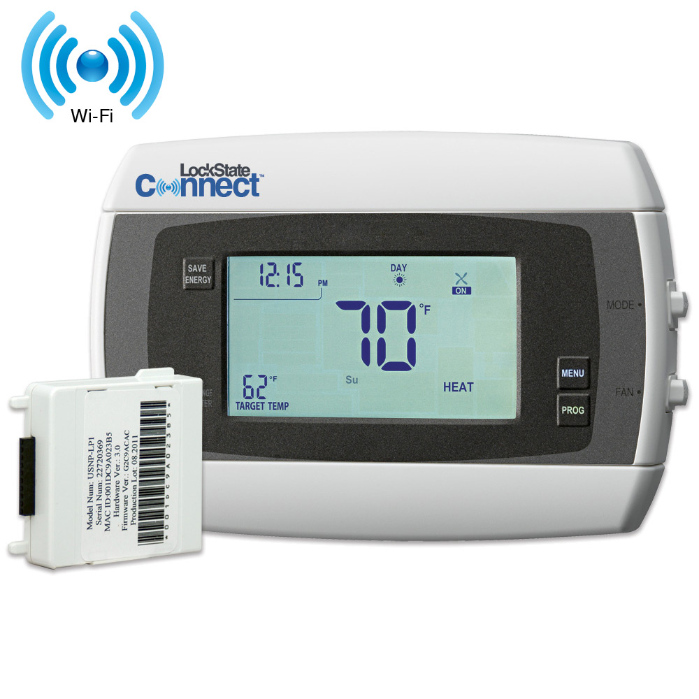 LockState Connect LS-90i Internet Thermostat